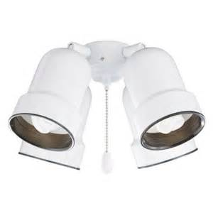 home depot ceiling fan light kit illumine zephyr 4 light appliance white ceiling fan light