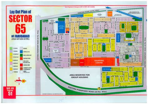 layout plan sector 56 faridabad faridabad huda sector 65 map master plans india