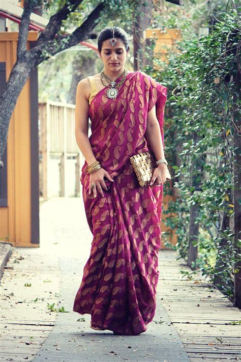innovative saree draping styles nivi style saree draping its origin innovation and more