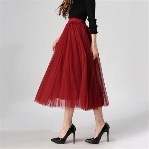 2016 summer pleated mesh tulle skirt fashion