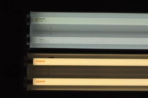 led fluorescent tube lights lighting smack down 4 fluorescent tubes vs led