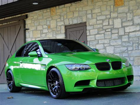 green bmw individual java green bmw e92 m3 up for sale autoevolution