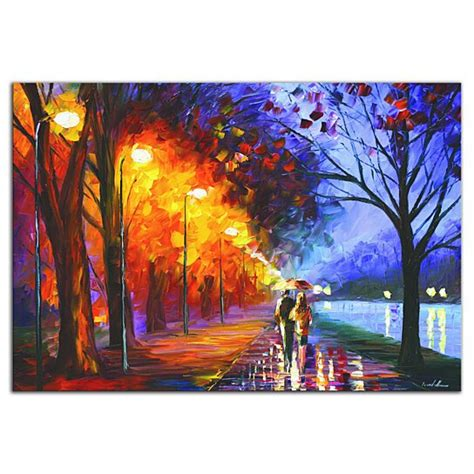 buy colorful city park alley   lake contemporary