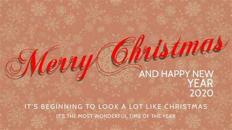 merry christmas  wishes template postermywall