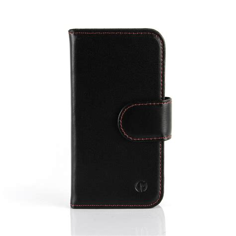 Leather Wallet Cover Iphone 6 by Apple Iphone 6 6s Leather Wallet Black Casemade