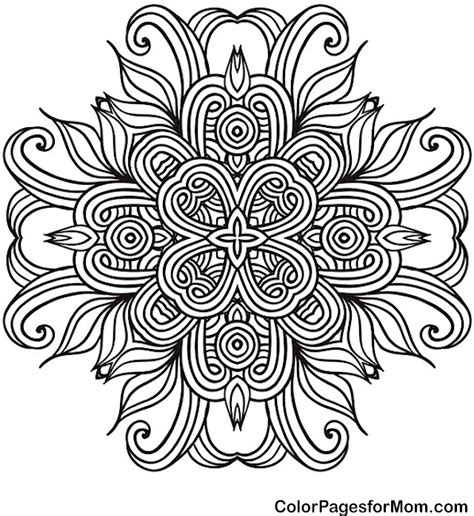 coloring book for grown ups mandala coloring book mandala 41 advanced coloring pages