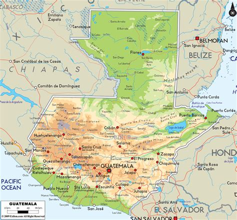 where is guatemala on the map rivers of guatemala map