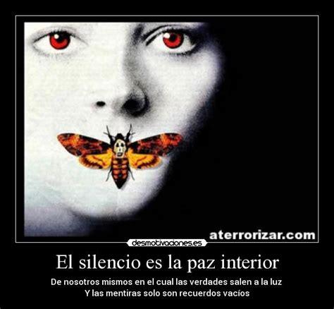 necesito paz interior el silencio es la paz interior desmotivaciones