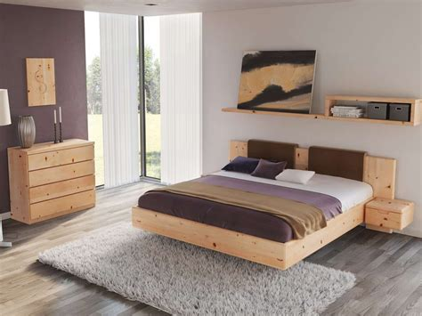 schlafzimmer zirbe schlafzimmer aus massivholz zirbe mit zirbenbett lilli