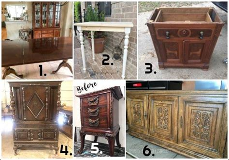 Furniture Friends by Creating A Layered Finish Using Miss Mustard Seed S Milk