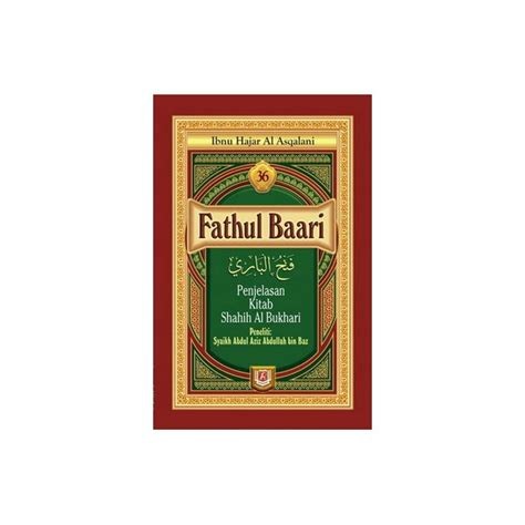 Kitab Syarah Shahih Muslimpustaka Azzam Buku Fathul Baari Lengkap 1 Set Jilid 1 36 Penjelasan