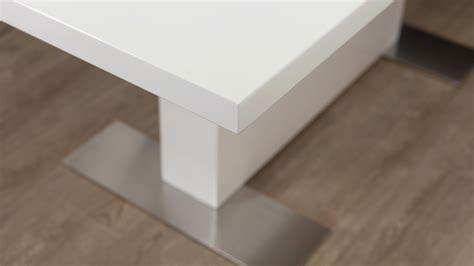 Modern Rectangular White Gloss Extending Dining Table Uk Extending White Gloss Dining Table