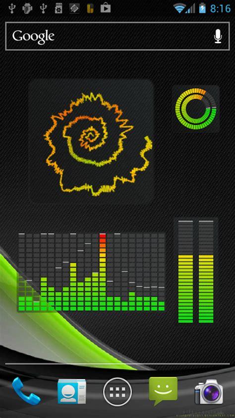 best widget apk vu visualizer widgets android apps on play