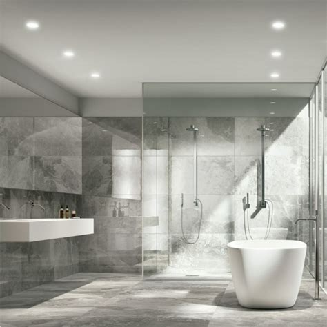Salle De Bain Carrelage Gris by Le Carrelage En Marbre En 42 Photos