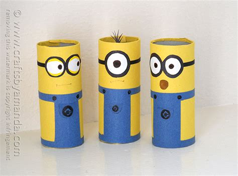 minion diy crafts cardboard minions recipe minion craft cardboard