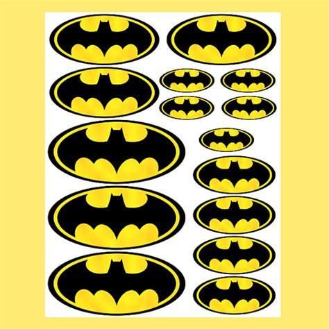 printable batman logo stickers instant download batman 4 sizes for balloon stickers by essu50
