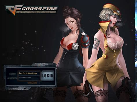 facebook themes crossfire cfc cross fire custom cross fire ladies login bg