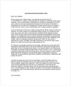 School Reference Letter Sle Recommendation Letters 8 Exles In Pdf Word