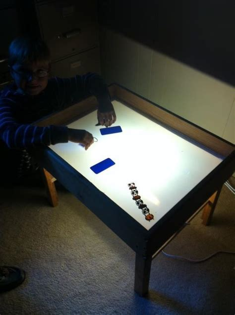 top 25 ideas about diy light tables on