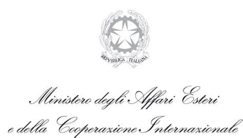 ministero affari esteri consolati riset home page