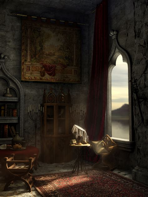 medieval bedroom golden cage by antarann on deviantart