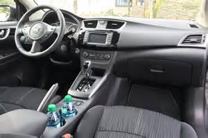 Nissan Sentra Interior 2016 Nissan Sentra Drive Review Motor Trend