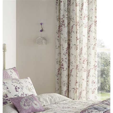 lilac drapes dreams n drapes lila lilac heather vinatge floral pencil