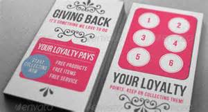 Loyalty Card Templates Loyalty Card Template 12 Great Designs To Use Now