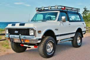 vintage monday 69 to 72 chevy k5 blazer road xtreme