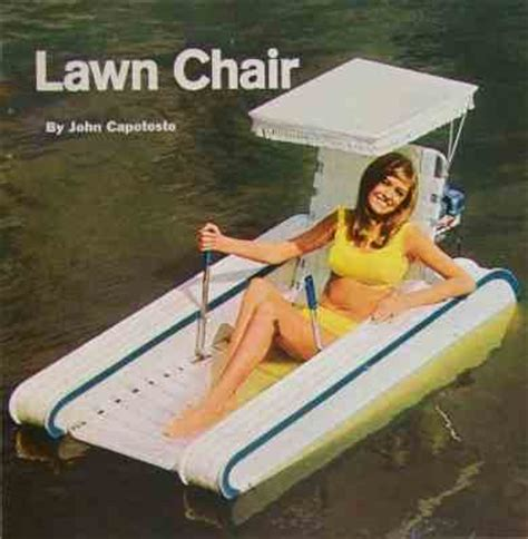 Floating Lawn Chair floating lawn chair how to build plans outboard powered ebay