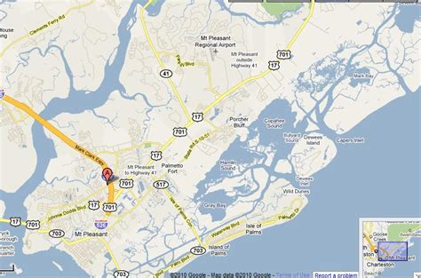 map of mt pleasant sc charleston sc real estate mount pleasant sc homes for sale
