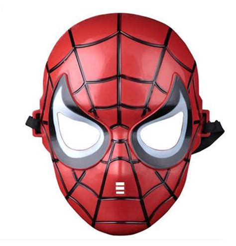 Topeng Pdt Led Mask 7in1 masks mask spider batman pacifier captain