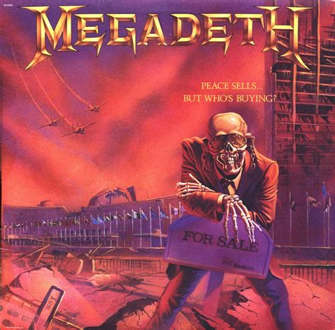 Kaos Band Metal Megadeth Mega7 riddle of steel metal megadeth peace sells but who s buying 1986 press