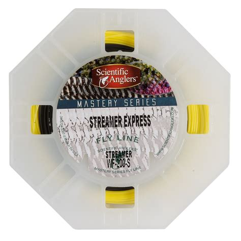 sinking saltwater fly line scientific anglers mastery streamer express taper fly line