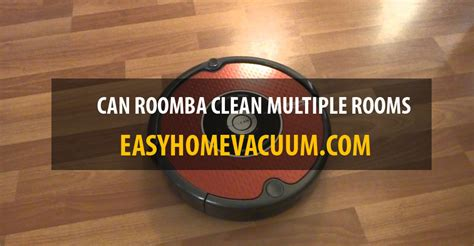 roomba clean multiple rooms easy home vacuum