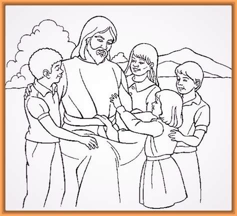 imagenes de jesus para colorear infantiles dibujos para colorear milagros jesus para ni 241 os archivos