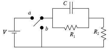 capacitor rc circuit initially uncharged the circuit shown initially has the capacitor unch chegg