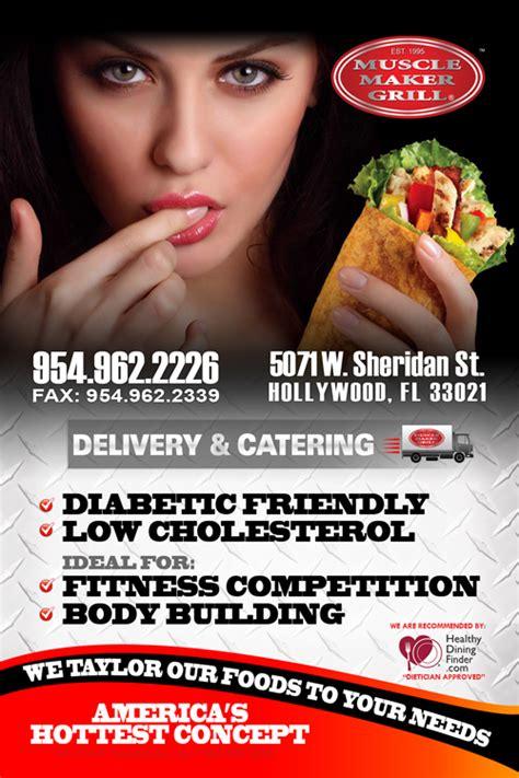 flyer design maker websites muscle maker grill restaurant florida flyer design