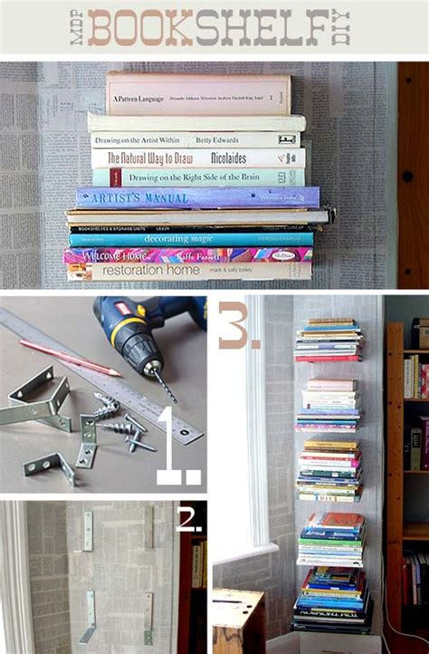 make a creative and unique bookshelf by your own