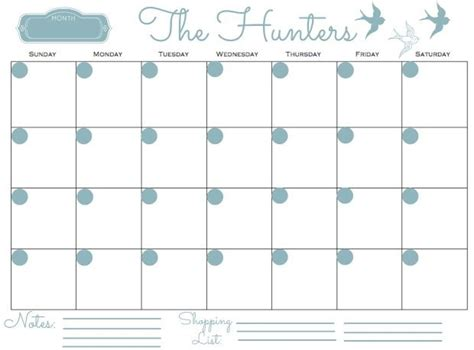 printable monthly family planner 2015 monthly family calendar printable search results