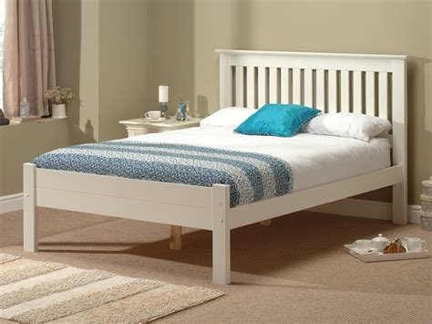 bed white wood alder white by snuggle beds at mattressman