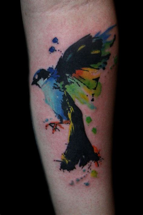 small colorful bird tattoos best 25 watercolor bird tattoos ideas on