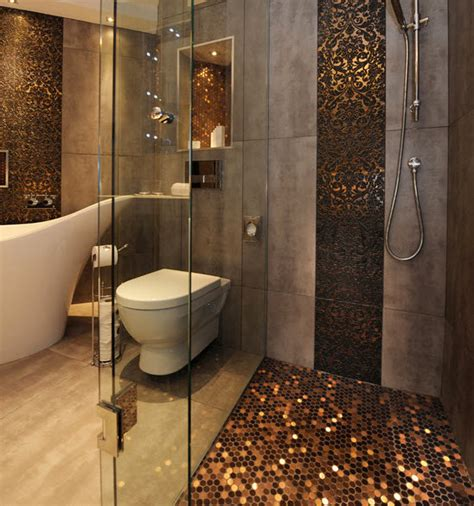 37 chocolate brown bathroom floor tiles ideas and pictures