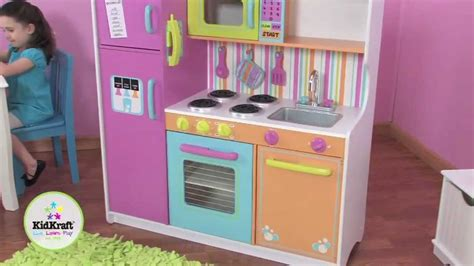 Buy Kidkraft Deluxe Big And Bright Kitchen 53100 From 163 Kidkraft Deluxe Big Bright Kitchen 53100