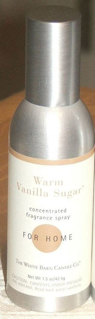 White Barn Candle Room Spray by Free Bath Works White Barn Candle Co Warm Vanilla