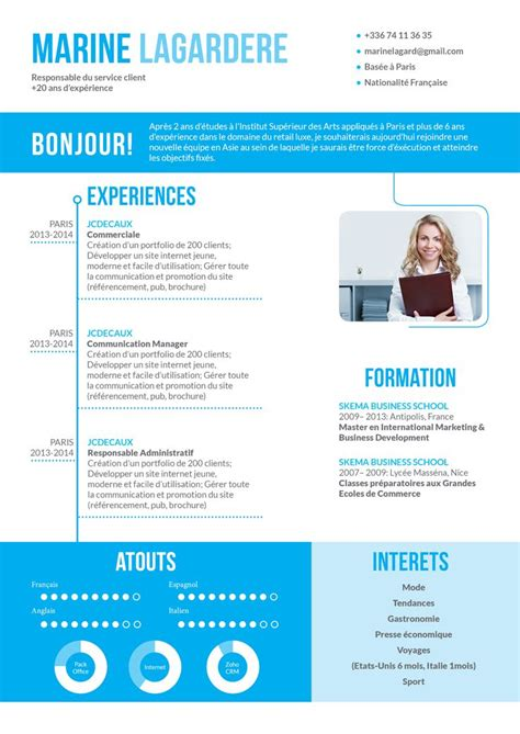 Cv Original by 46 Best Images About Cv Originaux On