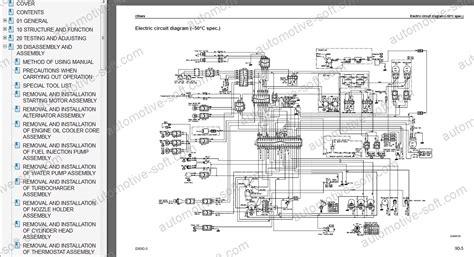 komatsu wiring schematic 24 wiring diagram images
