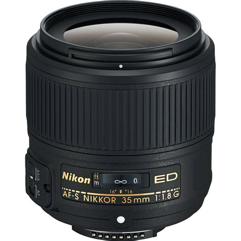 Nikon 35mm F 1 8g nikon af s nikkor 35mm f 1 8g ed lens 2215 b h photo