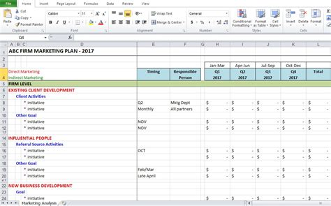 pattern analysis exle marketing analysis excel template free excel tmp