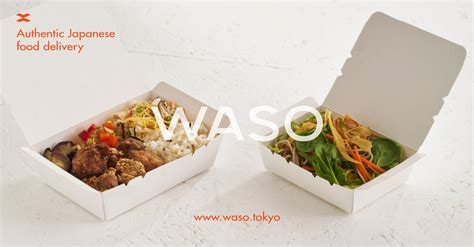 waso japanese lunch delivery  london